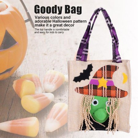 Dilwe Halloween Party Holiday Trick or Treat Goody Bag for Costume Accessory , Goody Bag Trick or Treat, Goody Bag - Halloween Goody Bags Uk