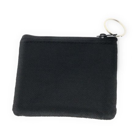 - Coin Pouch Wallet Change Holder Purse With Key Chains 4 Colors Id Holder Cards