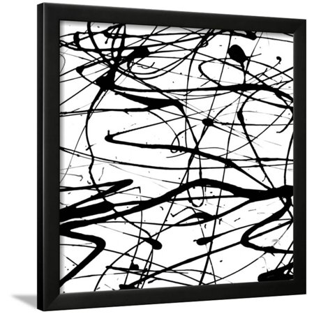 Splatter Paint I Framed Print Wall Art By Ricki Mountain (Paint Splatter Clip Art)