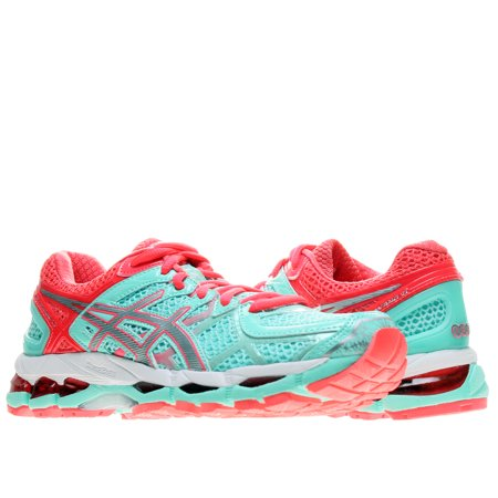 new product 350e3 b1cae ASICS - Asics Gel-Kayano 21 Beach Glass Silver Women s Running Shoes  T4H7N-6493 - Walmart.com