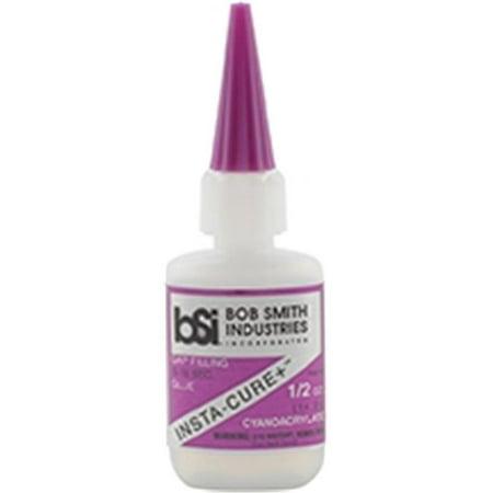 Insta-Cure Plus Gap Filling CA .5oz Glue Bob Smith Industries