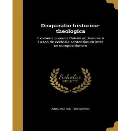 Disquisitio Historico-Theologica: Exhibens Joannis Calvini Et Joannis a Lasco de Ecclesia Sententiarum Inter Se Compositionem - image 1 de 1