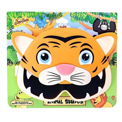 Party Costumes - Sun-Staches - Animals Shades - Tiger SG2982 - Party Animal Costume