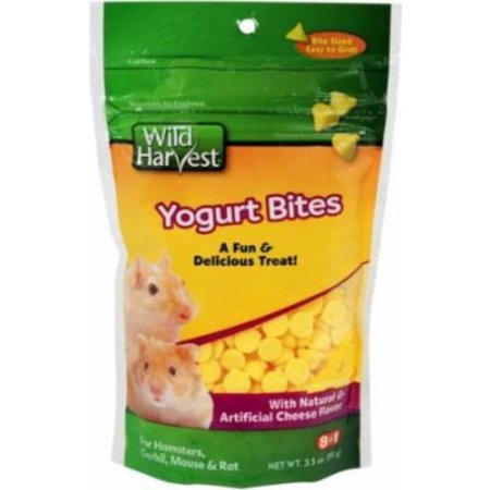(3 Pack) Wild Harvest Cheese Yogies for Guinea Pigs and Adult Rabbits, 3.5 oz.