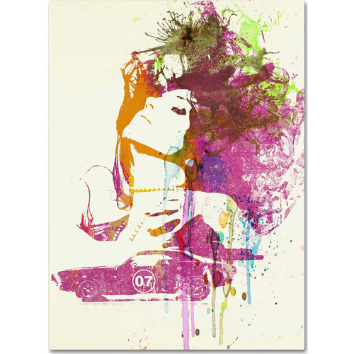 "Trademark Fine Art ""Challenger Girl"" Canvas Art by Naxart"