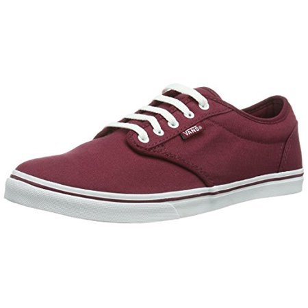 a5ccf474f9c796 Vans - VANS Women s Shoes Atwood Low Burgundy   White Sneakers (9) -  Walmart.com