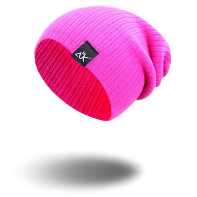 AkoaDa Winter Daily Beanie Stocking Hat - Warm Polar Fleece Skull Cap for Men and Women