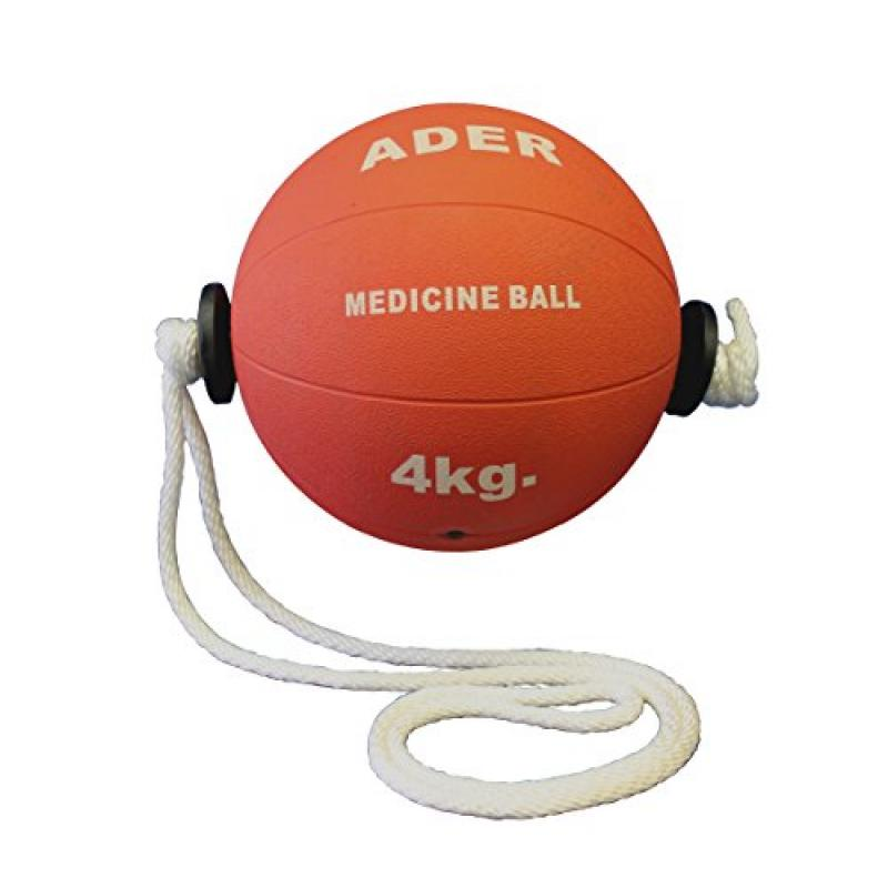 4kg (9 Lb) Power Rope Medicine Ball