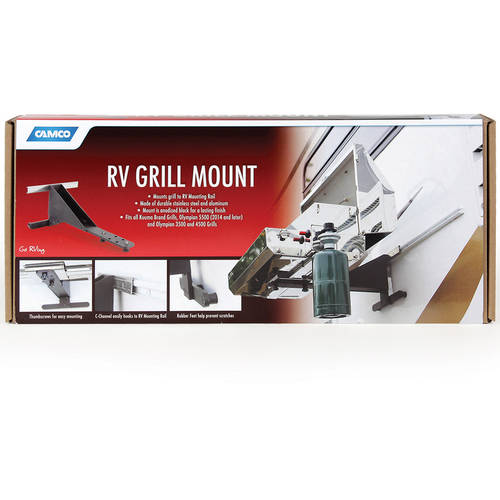 Camco 58090 Universal Grill Mount