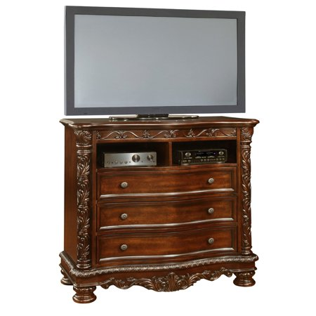 - Oasis Home Patterson 3 Drawer Media Chest