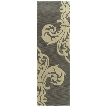Rachael Ray  Soho SOH05-38 Charcoal Polyacrylic Rug by  - 2
