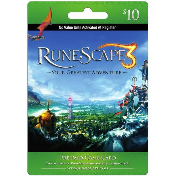 Jagex RuneScape $10 Card