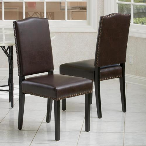 Edgerton Champagne Velvet Wood Dining Chair Set Of 2