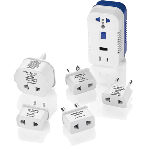 Travel Smart 1875-Watt High-Power Converter with Built-In USB Port for Single Voltage Appliances TS703CR