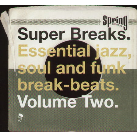Super Breaks: Essential Funk Soul and Jazz Samples and Break-Beats, Vol  2  (Vinyl)