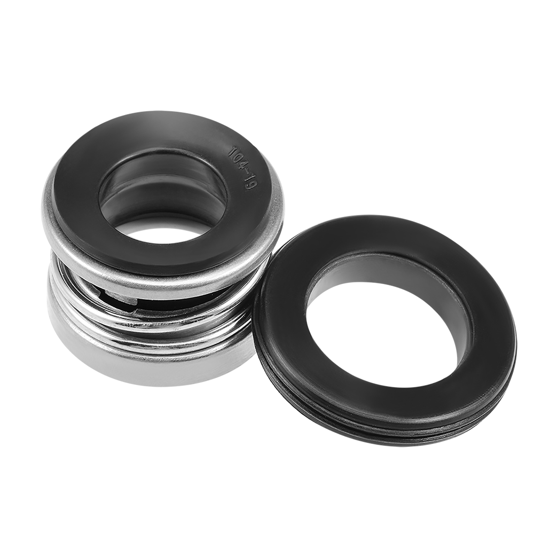 Mechanical Shaft Seal Replacement for Pool Spa Pump 2pcs 104-19 - image 3 of 4