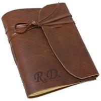 Genuine Leather-Bound Customized Journal