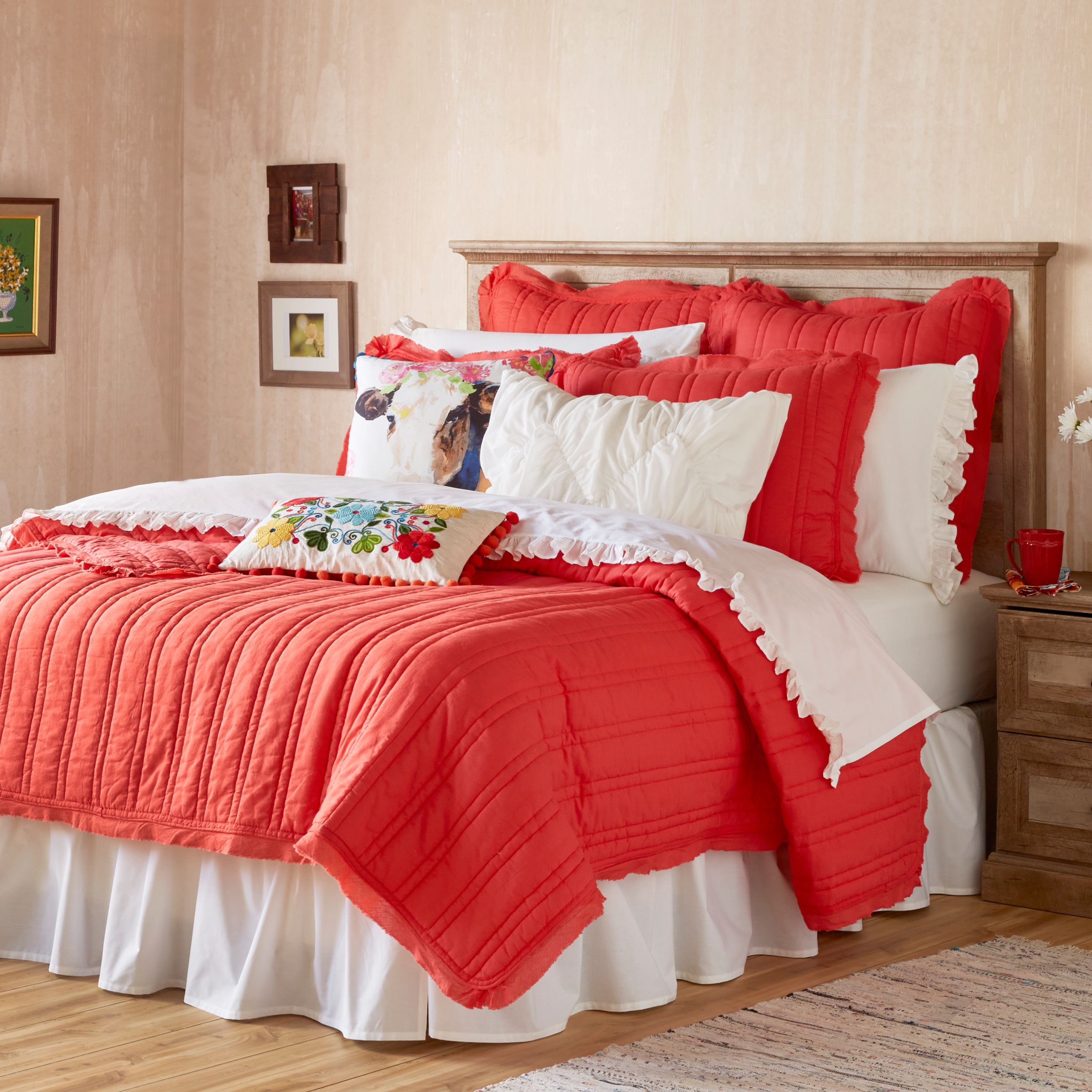 The Pioneer Woman Double Stitch Quilt