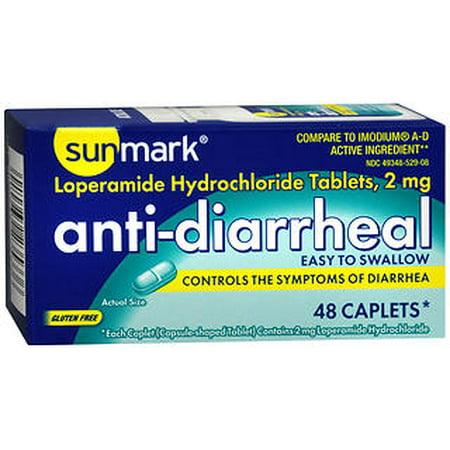 antidiarrhéiques Caplets - 48 ct