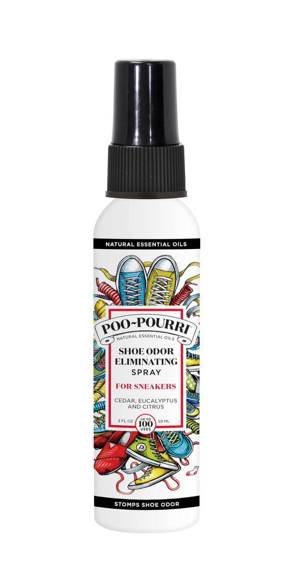 Poo Pourri Shoe Odor Eliminator Spray 4oz Walmart Com
