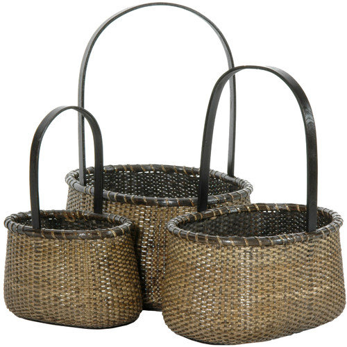 Oriental Furniture Rattan Baskets (Set of 3)