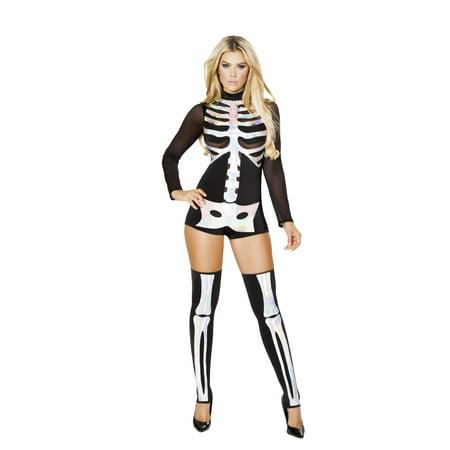 1pc Jackie Skeleton Costume