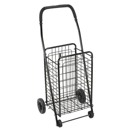 DMI Collapsible Rolling Cart with Wheels for Shopping and