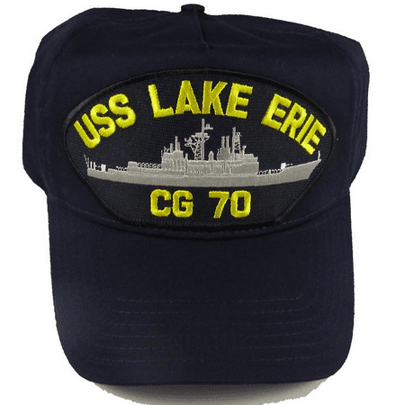 USS LAKE ERIE CG-70 HAT USN NAVY SHIP GUIDED MISSILE CRUISER TICONDEROGA CLASS (Ticonderoga Class Cruiser)