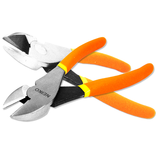 """7"""" Wide Face Wire Cutters Diagonal Pliers by Neiko"""
