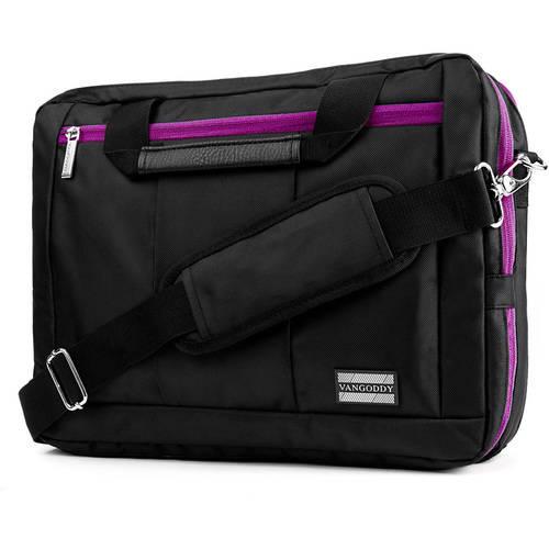 "Vangoddy El Prado 3-in-1 Hybrid Backpack/Briefcase/Messenger Bag fits up to 13.3"" Laptops"
