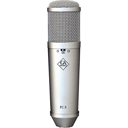 Large Diaphragm Multi Pattern Condenser (Golden Age Project FC3 Multi-pattern Large Diaphragm Condenser Microphone)