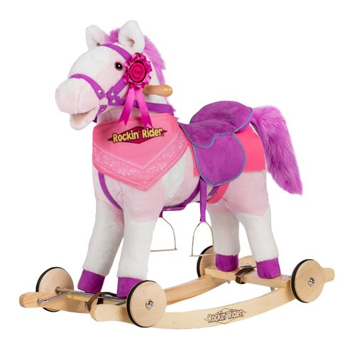 Rockin' Rider Apple 2-in-1 Horse