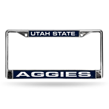 - Utah State Aggies NCAA Laser Chrome Frame