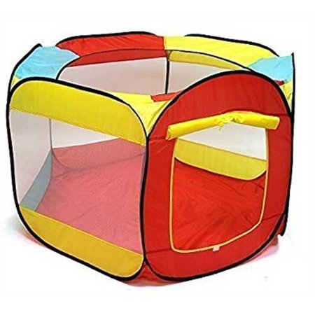 Kiddey Ball Pit Play Tent for Kids - 6-sided Playhouse for Children - Fill with Plastic Balls (Balls Sold Separately) or Use As
