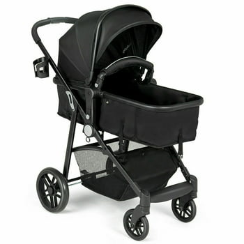 Costway 2 In1 Foldable Baby Stroller