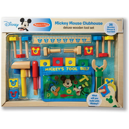 Mickey Mouse Deluxe Tool Kit Walmart Com