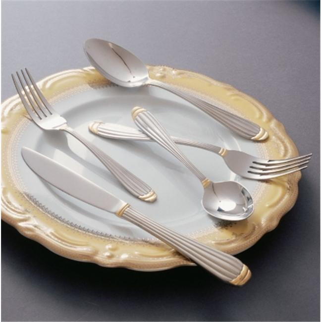 Ten Strawberry Street Parisian Gold- Dinner Spoon