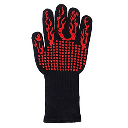 BBQ Gloves Extreme Heat Resistant, Tvird Oven Gloves BBQ Grilling Gloves - image 1 de 8