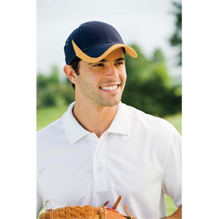 Image of Adams Wave Cap - Navy/Gold - One Size