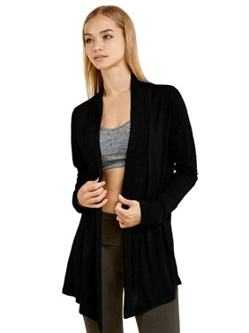 a0936ff4a2e Product Image Lightweight Womens Open Front Draped Cardigan