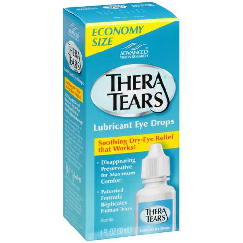 TheraTears Lubricant Eye Drops, 1 fl oz