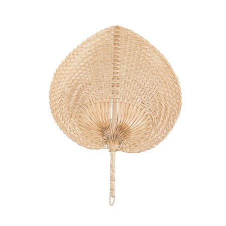 Fun Express - Natural Bamboo Fans for Party - Party Supplies - Favors - Fans - Party - 12 Pieces - Express Party