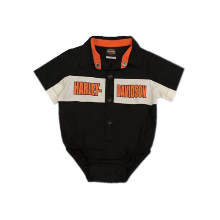 8c6966414 Harley-Davidson - Harley-Davidson Baby Boys' Short Sleeve Woven Shop Shirt  Creeper 3050783 (6/9M), Harley Davidson - Walmart.com