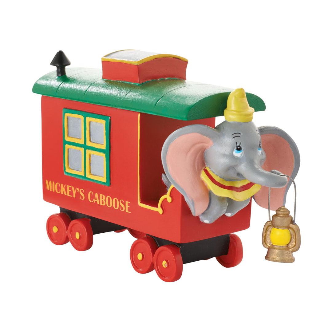 Dept 56 Disney Village Mickey's Holiday Caboose Dumbo 4053051