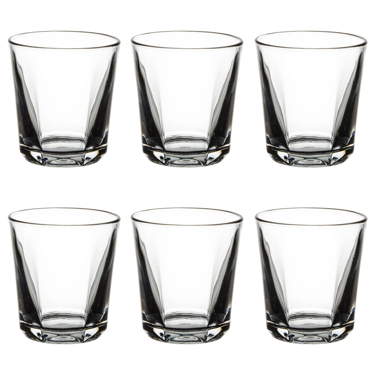 6 Anchor Clarisse 12oz Rocks Glasses 77790R Cocktail Wholesale Bulk Lot Barware