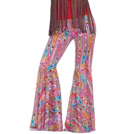 Womens Wild Swirl Bell Bottom Pants Halloween Costume for $<!---->