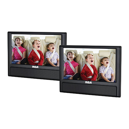 "9"" Dual Screen Mobile DVD Player by RCA"