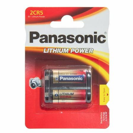 8-Cards Panasonic 2CR5 6 Volt Lithium Batteries (245, DL245, EL2CR5) - image 1 de 1
