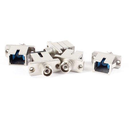 - Unique Bargains 5 Pcs FC to SC SX Femal Simplex Flange Fiber Optic Optical Coupler