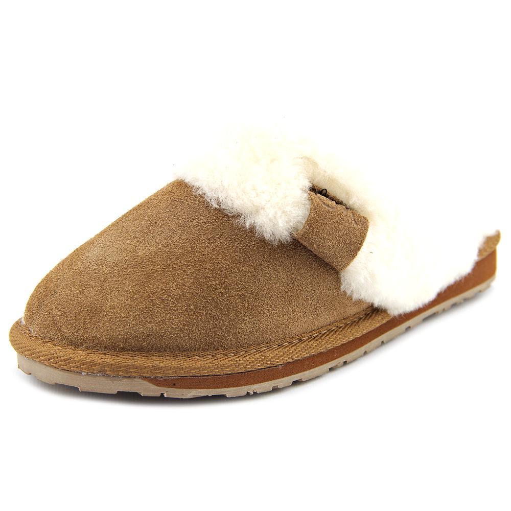 Emu australia jolie round toe suede slipper walmart com